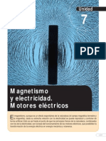 Magnetismo y electricidad. Motores eléctricos (1)