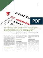 company performance
