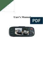 L2000 Dashboard Camera for Car