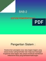 BAB 2 [Sistem Pemerintahan]