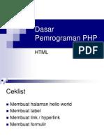 Pemrograman-PHP1