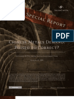 Special Report - 2009-08-21 - China's Metal Demand