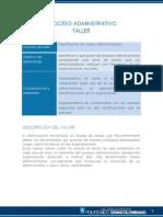 Taller 1 Proceso Administrativo Sin Respuestas