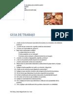 Cuestionario de Proteinas 2012