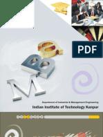 IITK MBA Profile Booklet 2009 - 10