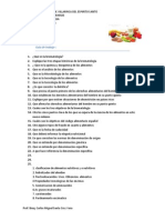 Cuestionario de Clase 1 Bromatologia 2012