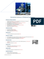 Some International Reference of Molykote Applications in Oil & Gas Industry