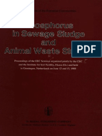 Phosphorus in Sewage Sludge