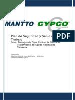 Plan de Seguridad Obra Ptar Taboada de Mantto