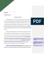Writing Theory Essay Feedback