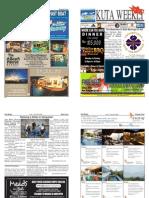 "Kuta Weekly-Edition 365 ""Bali's Premier Weekly Newspaper"""