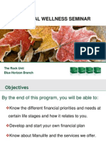 Financial Wellness Seminar