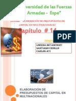 ELABORACIÓN DE PRESUPUESTOS DE CAPITAL EN MULTINACIONALES