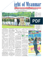 New Light of Myanmar News Paper (10 Dec 13)