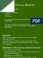 01B Non-Ferrous Material