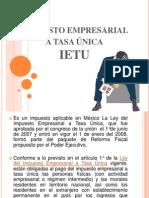 Ley Del Impuesto Empresarial