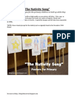 """""""The Nativity Song""""  Signs"""
