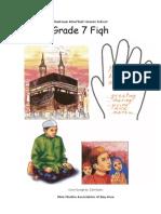 Grade 7 Fiqh