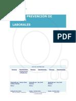Plan de Prevencion de Riesgos Laborales