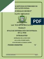 DISEÑO DE EVALUACIÓN