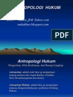 Antropologi Hukum