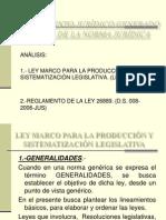 Ley Marco 26889-Produ