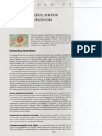 Guyton- Capitulo 32- Eritrocitos, Anemia y Policitemia