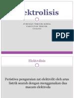 Elektrolisis