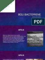 boli bacteriene