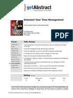 Kickstart Your Time Mngmnt e 02