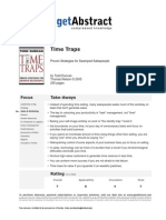Time Traps Duncan e