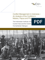 Conflict Management in Indonesia –