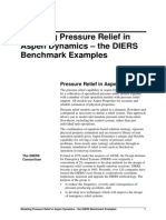 Aspen Dynamics DIERS Benchmarks