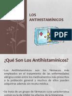 Los Antihistamínicos.