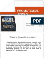Sales Promotion Tools