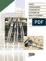 Post Tensioned Concrete Floors in Multi Storey Buildings
