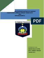 Tatib DPRD Lombok Tengah 2011