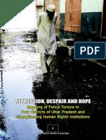 Repression, Despair and Hope