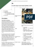 Steel Sheet in Coils - Cargo Handbook - The World's Largest Cargo Transport Guidelines Website