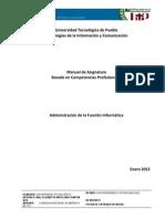Antologia (1) Administracion de La Funcion Informatica