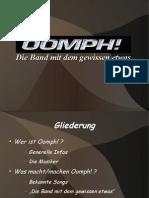 oomph Präsentation
