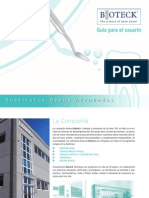 Guia de Usuario Bioteck