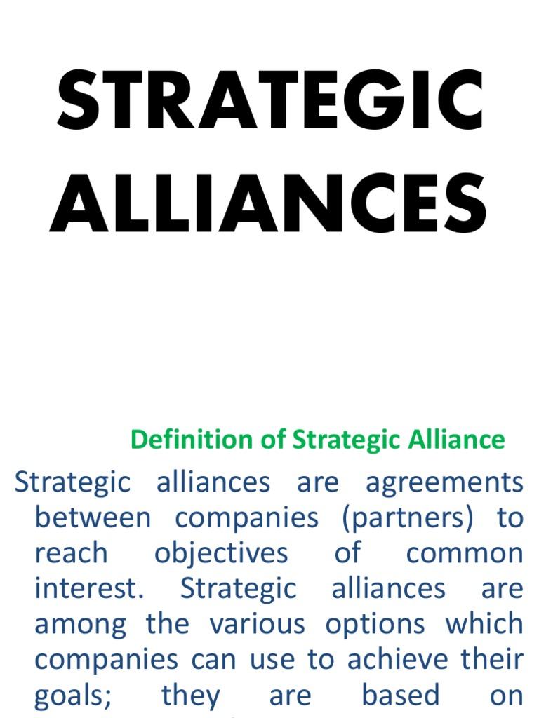 strategic alliances for ib | franchising | license