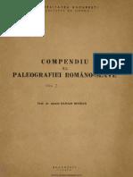 Paleografie Romano Slavona
