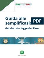 Guida Alle Semplificazioni Decreto Del Fare