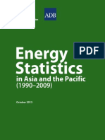 Energy Statistics in Asia and the Pacific (1990–2009)