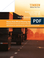 Heavy Duty Wheel Bearing Application Catalog January 2012