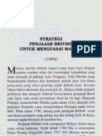 Strategi Penjajah British Untuk Menguasai Malaya