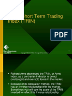 Arm's Short Term Trading Index (TRIN)