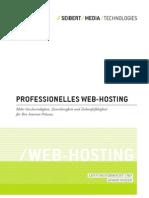 Web Hosting-Dienstleistungen von //SEIBERT/MEDIA